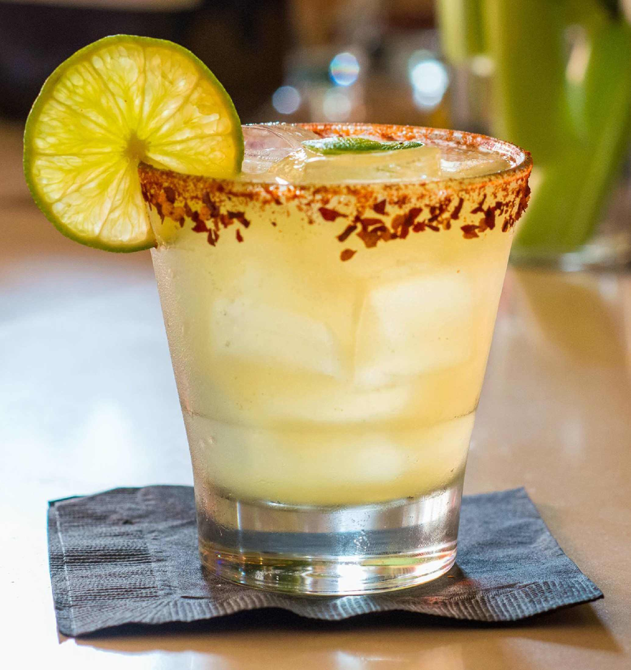 Sweet and Spicy Margarita Mocktail